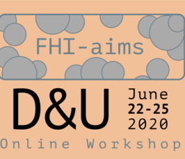 FHI-aims Developers' and Users' Meeting